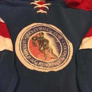 Gently-used Hockey Hall of Fame Sweatshirt